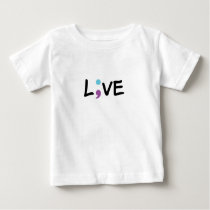 Suicide Prevention Awareness Semicolon Heartbeat Baby T-Shirt