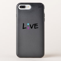 Suicide Prevention Awareness Semicolon Heartbeat Speck iPhone Case