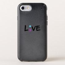 Suicide Prevention Awareness Semicolon Heartbeat Speck iPhone Case