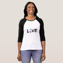 Suicide Prevention Awareness Semicolon Heartbeat T-Shirt