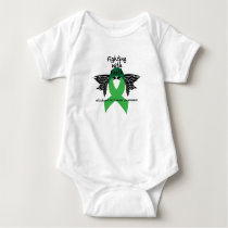 Suicide Prevention Awareness Semicolon Warrior Baby Bodysuit