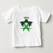 Suicide Prevention Awareness Semicolon Warrior Baby T-Shirt
