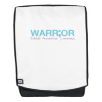 Suicide Prevention Awareness Semicolon Warrior Backpack