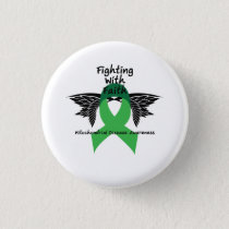 Suicide Prevention Awareness Semicolon Warrior Button