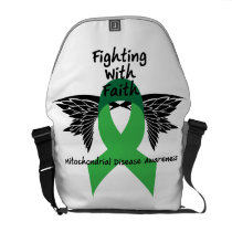 Suicide Prevention Awareness Semicolon Warrior Courier Bag