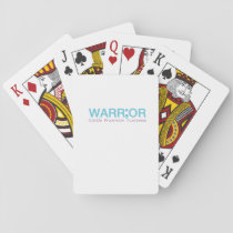 Suicide Prevention Awareness Semicolon Warrior Playing Cards