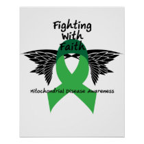 Suicide Prevention Awareness Semicolon Warrior Poster