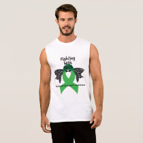 Suicide Prevention Awareness Semicolon Warrior Sleeveless Shirt