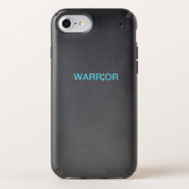 Suicide Prevention Awareness Semicolon Warrior Speck iPhone Case
