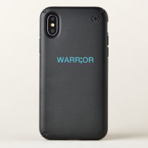 Suicide Prevention Awareness Semicolon Warrior Speck iPhone X Case