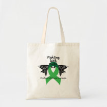 Suicide Prevention Awareness Semicolon Warrior Tote Bag