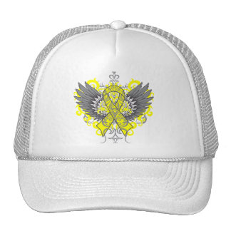 Suicide Prevention Awareness Wings Trucker Hats