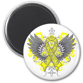 Suicide Prevention Awareness Wings Magnet