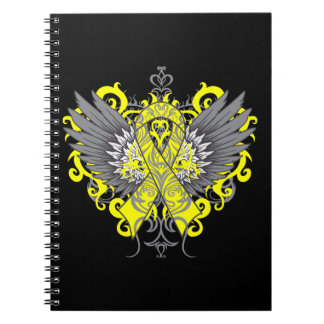 Suicide Prevention Awareness Wings Notebook