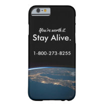 Suicide Prevention Barely There iPhone 6 Case