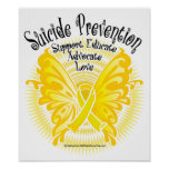 Suicide Prevention Butterfly 3 Poster