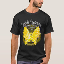 Suicide Prevention Butterfly 3 T-Shirt
