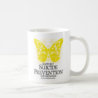 Suicide Prevention Butterfly Coffee Mug