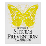 Suicide Prevention Butterfly Poster