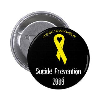 suicide prevention 2 inch round button