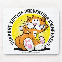 Suicide Prevention Cat Mouse Pad