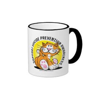 Suicide Prevention Cat Ringer Mug
