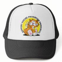 Suicide Prevention Cat Trucker Hat