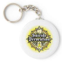 Suicide Prevention Celtic Cross Keychain