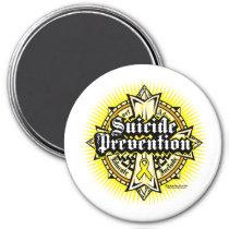Suicide Prevention Celtic Cross Magnet