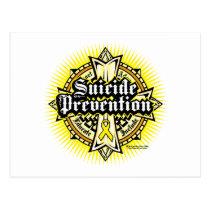 Suicide Prevention Celtic Cross Postcard