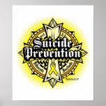 Suicide Prevention Celtic Cross Poster