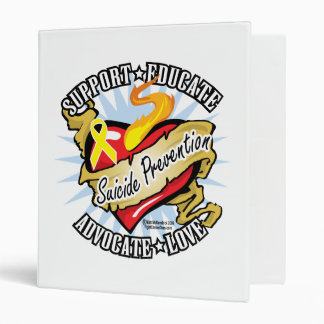 Suicide Prevention Classic Heart Binders