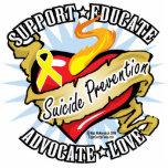 Suicide Prevention Classic Heart Cut Out