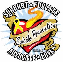 Suicide Prevention Classic Heart Statuette