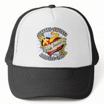 Suicide Prevention Classic Heart Trucker Hat