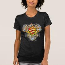 Suicide Prevention Cross & Heart T-Shirt
