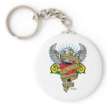 Suicide Prevention Dagger Keychain