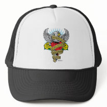 Suicide Prevention Dagger Trucker Hat