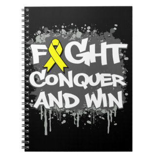 Suicide Prevention Fight Conquer and Win Notebooks