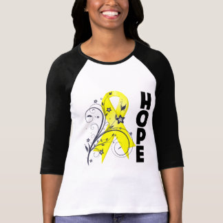 Suicide Prevention Floral Hope Ribbon Shirt