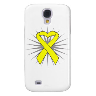 Suicide Prevention Heart Awareness Ribbon Samsung Galaxy S4 Covers