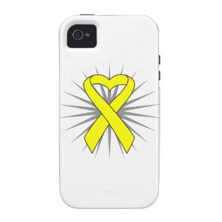 Suicide Prevention Heart Awareness Ribbon Case-Mate iPhone 4 Cover