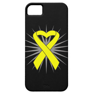 Suicide Prevention Heart Awareness Ribbon iPhone 5 Case