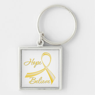 Suicide Prevention - Hope Believe Keychains