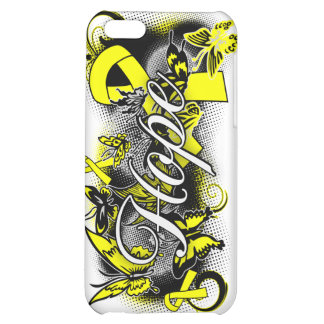 Suicide Prevention Hope Garden Ribbon Cover For iPhone 5C