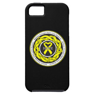 Suicide Prevention Hope Intertwined Ribbon iPhone 5 Case