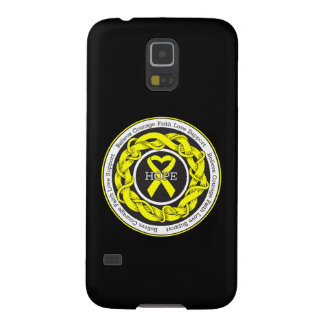 Suicide Prevention Hope Intertwined Ribbon Galaxy S5 Cover