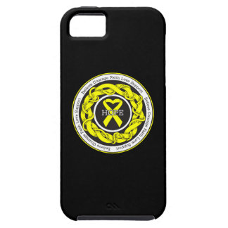 Suicide Prevention Hope Intertwined Ribbon iPhone 5 Cases