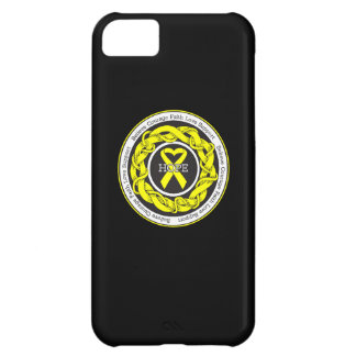 Suicide Prevention Hope Intertwined Ribbon iPhone 5C Cover