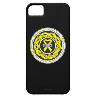 Suicide Prevention Hope Intertwined Ribbon iPhone 5 Cover